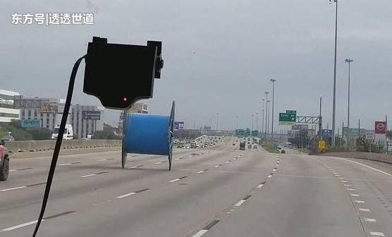 报告警官,高速路上有个无人驾驶的轮子在奔跑