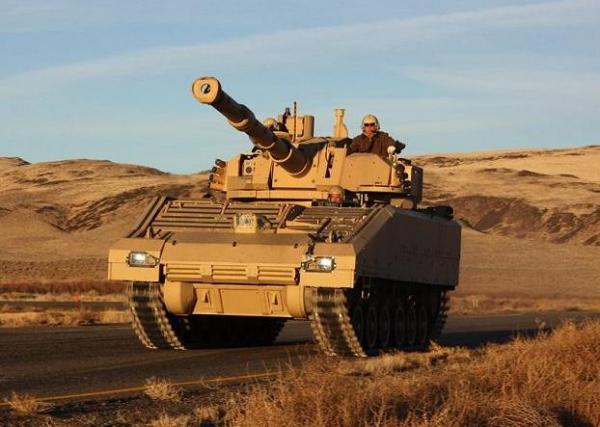 美军新轻坦竞标进入样车制造阶段 每辆3000万美元(组图)