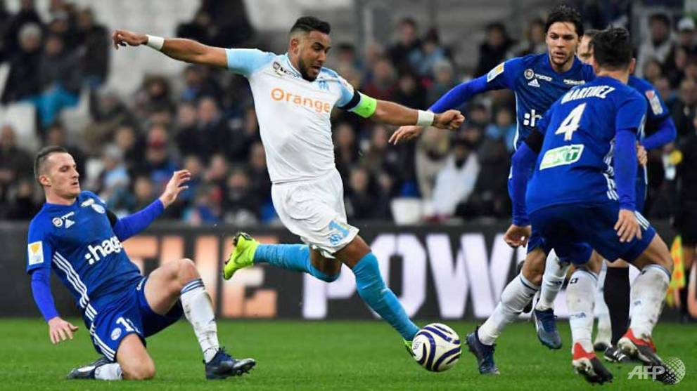 Football: Marseille crashed out of French League Cup, Monaco through