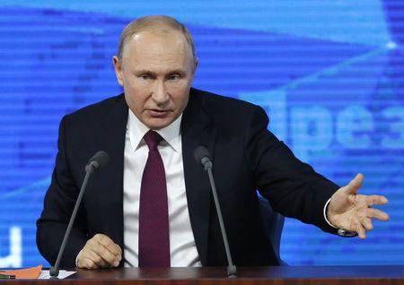 Putin says Russia ready to respect azov sea accord with Ukraine
