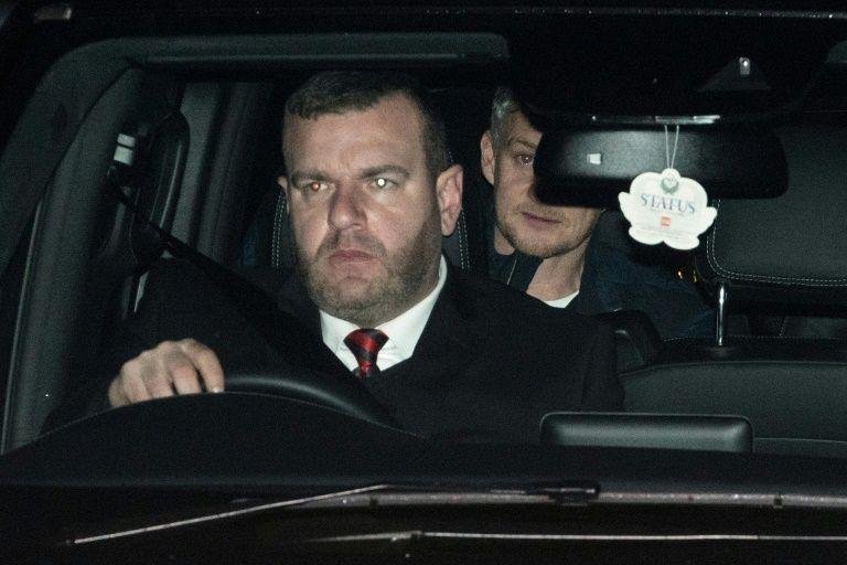 Solskjaer arrives at Man Utd training ground