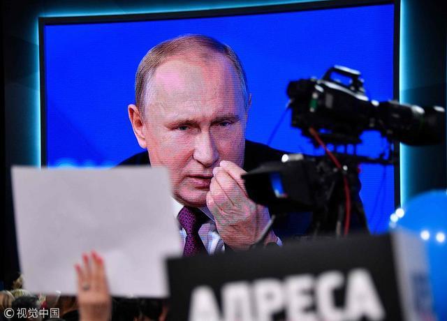 """普京总统立下一个""""小目标"""":世界第五大经济体"""