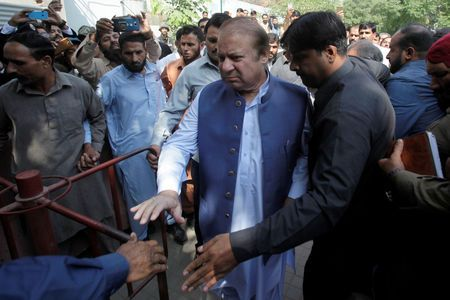 Ousted Pakistan PM sharif jailed for seven years for graft - Pakistan tv