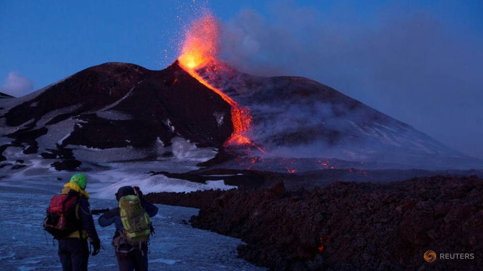 Italy's Mount Etna erupts, authorities close airport