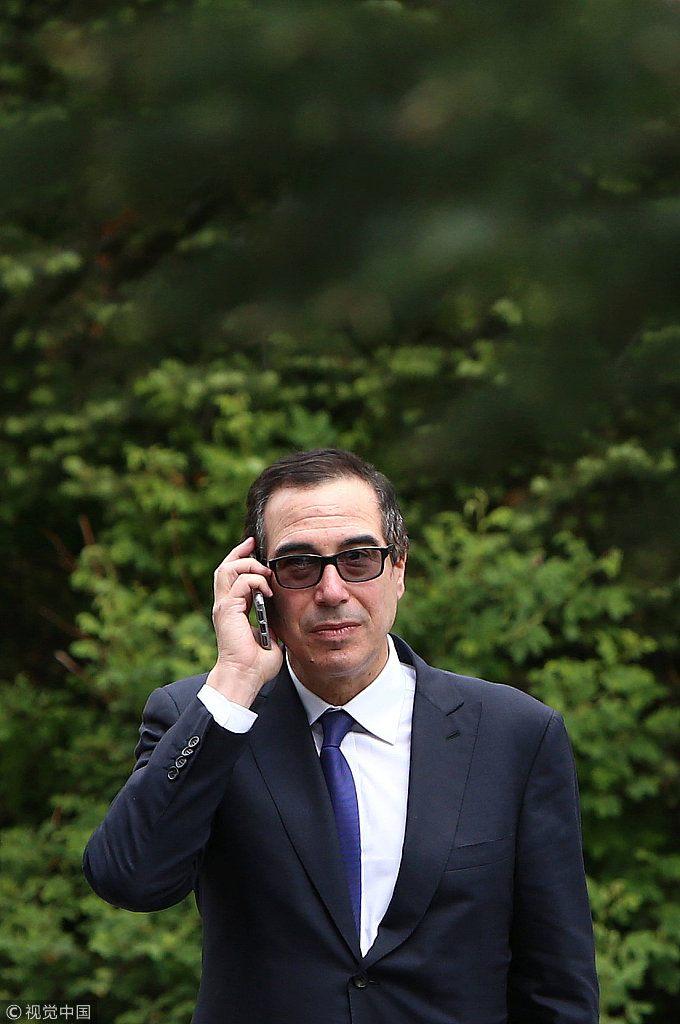 市场恐慌 美国财长给六大银行打电话 稳军心(组图)