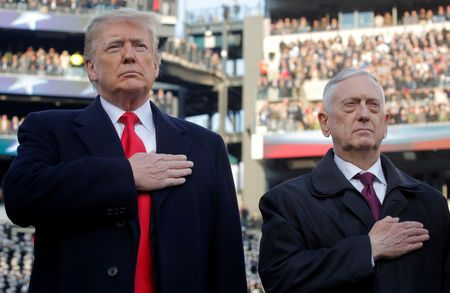 Mattis signs order withdrawing U.S. Troops from Syria