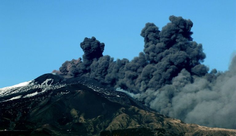 4.8 Quake hits area near Sicily's mount etna