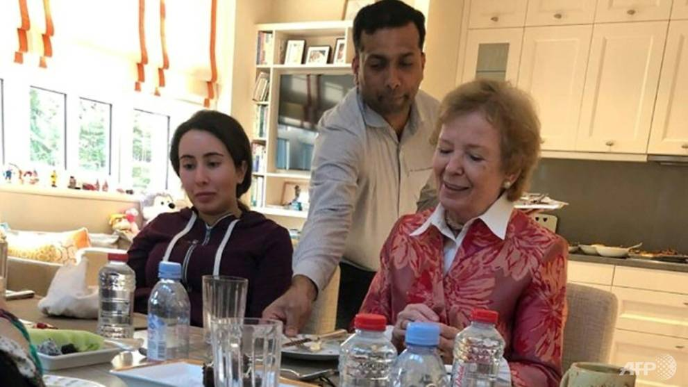 Campaigners voice concerns over Dubai princess