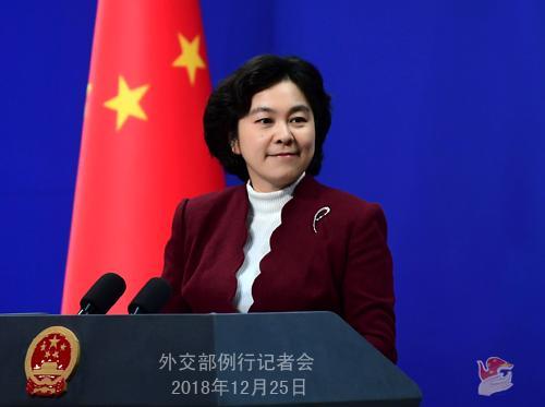 法国外交部发表声明称对中方拘押加公民表示关切 中方回应