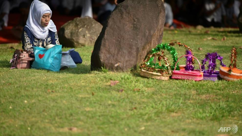 Indonesia prays on anniversary of 2004 Boxing Day tsunami