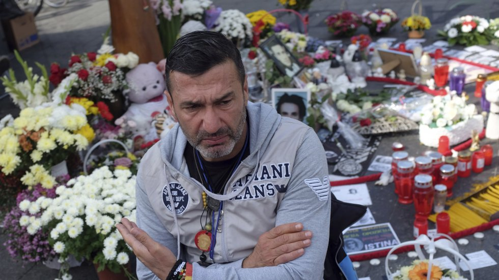 Bosnian Serb police arrest grieving father, who is demanding truth about son's murder