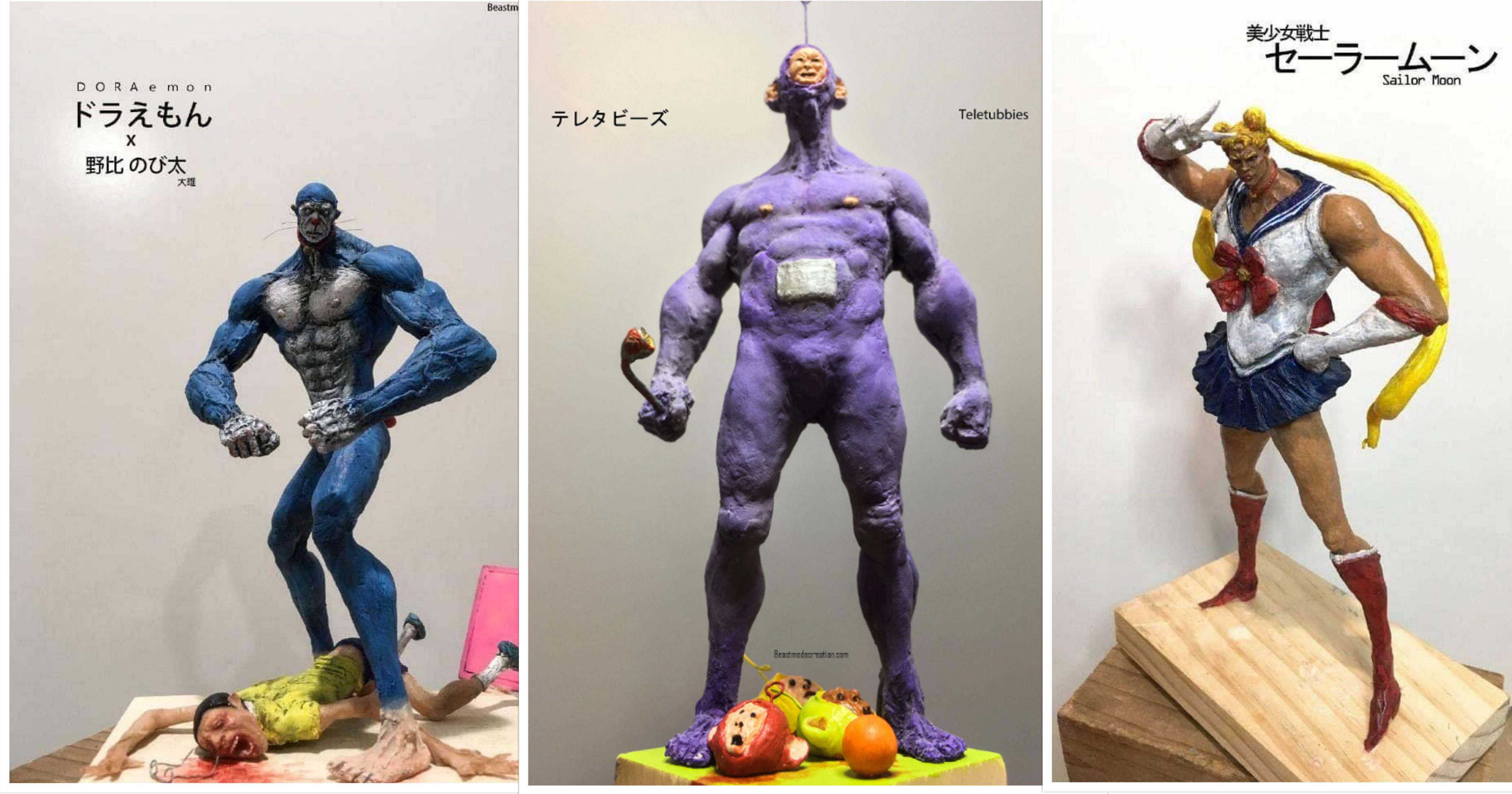 These anime & cartoon figurines will ruin your childhood in the best way possible