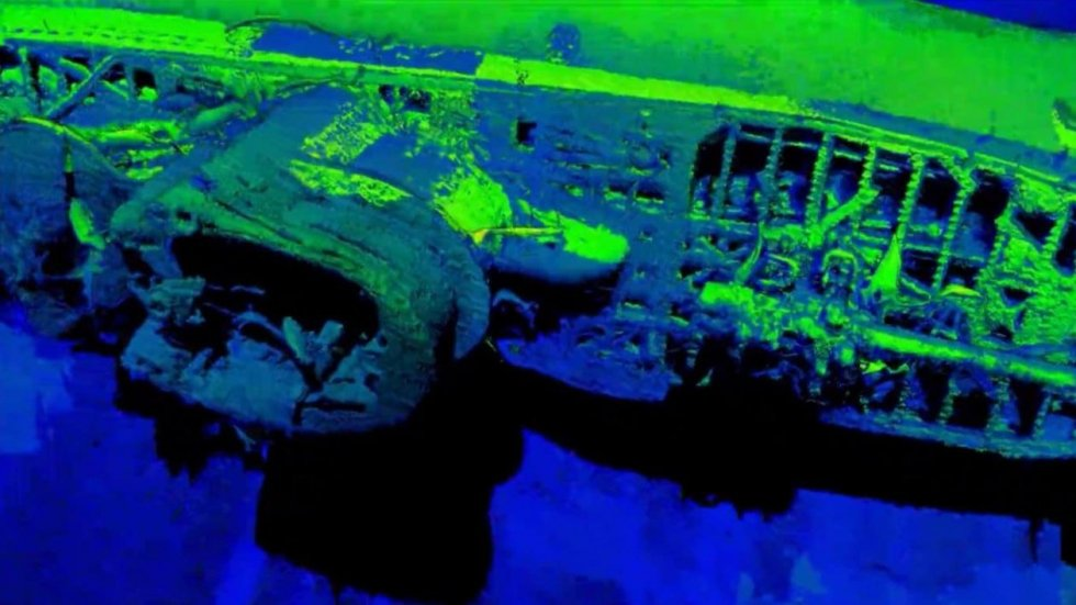 Lasers help tell ghostly story of doomed Nazi submarine U-576 and its entombed crew