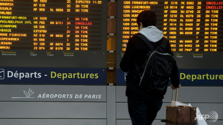 法国戴高乐机场出现恐慌 两人持复制枪被捕