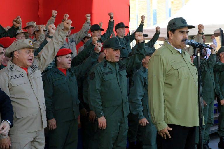 Nine venezuelan military personnel jailed over 'maduro plot'