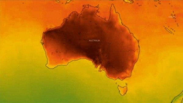 热浪持续横扫澳洲东南部!40度高温势头仍未减弱!部分地区全面禁火(图)
