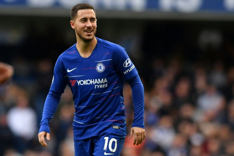 Hazard wants to be a Chelsea 'legend' after hitting century mark