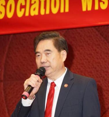 美国福建同乡会举办新年联欢会 向全球华人拜年