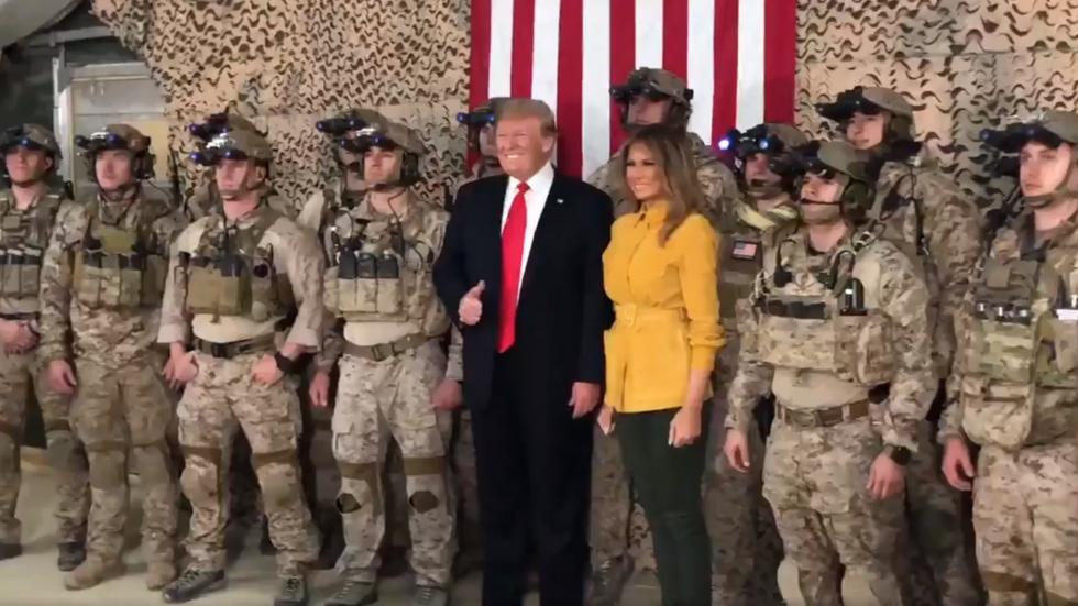 In war-zone blunder, Donald Trump tweets video revealing secret US Navy Seal team in Iraq