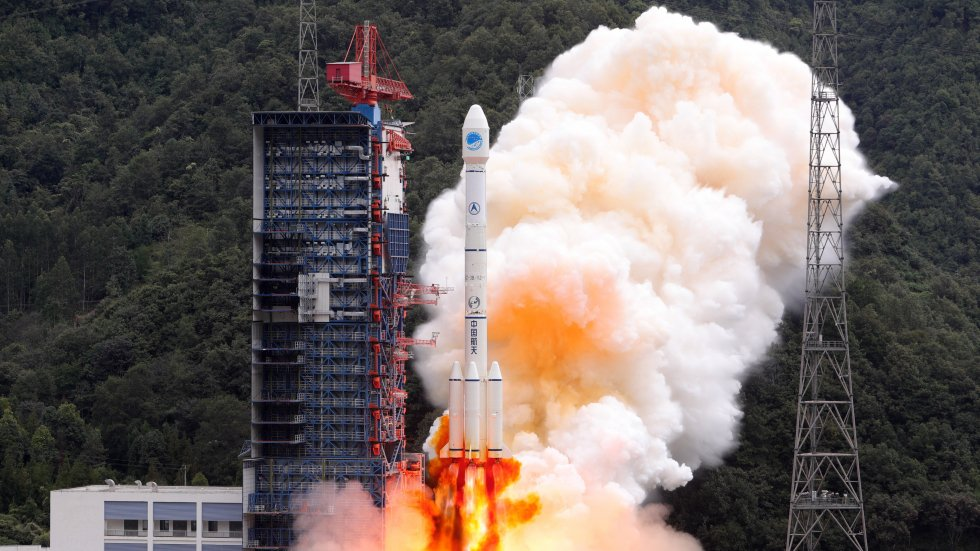 China ramps up global coverage for domestic Beidou satellite navigation system as rival to GPS