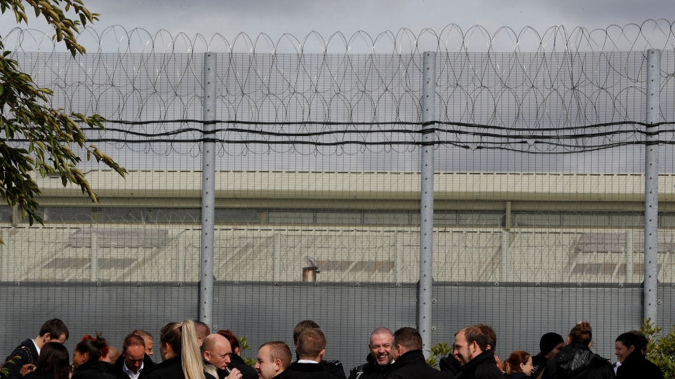 More prisoners in the United Kingdom will get to say 'hello' in their cells, in drive to cut violence