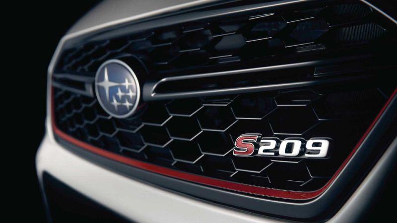 Subaru WRX STI S209 teased ahead of Detroit debut