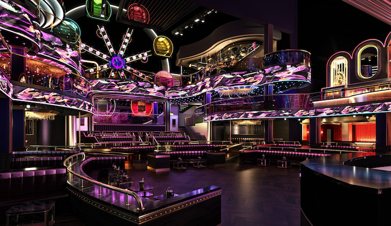 Asia's first Marquee nightclub will feature an actual ferris wheel when it opens at MBS next year