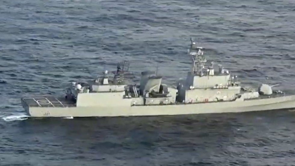 Japan says footage 'proves' South Korean warship had weapons lock on one of its aeroplanes