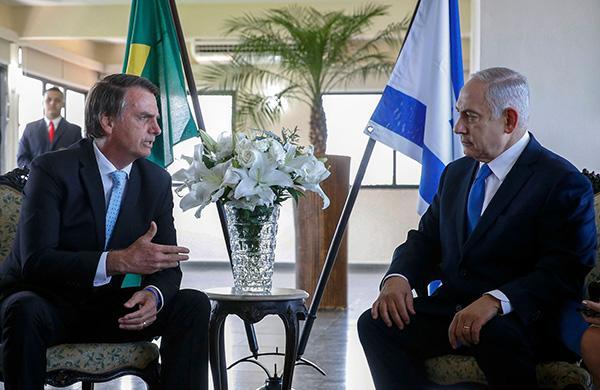 巴西候任总统会见内塔尼亚胡:加强合作但不迁使馆至耶路撒冷