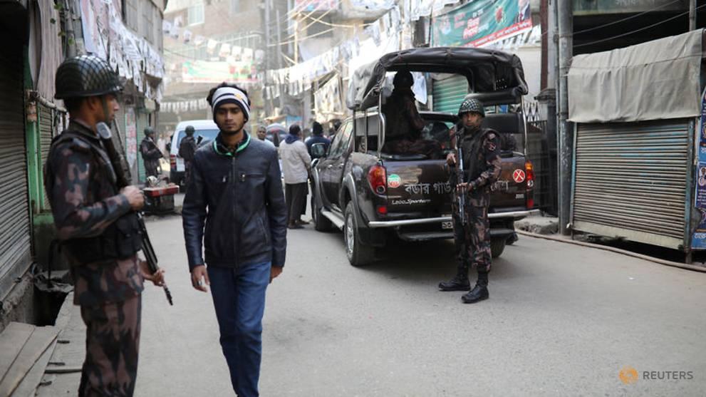 Bangladesh election violence kills 17 people, police say