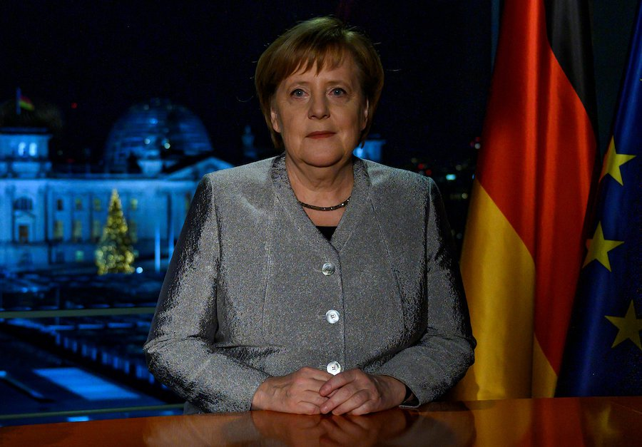 Merkel: Germany must fight for 'convictions'