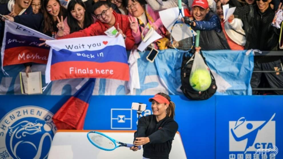 Tennis: Sharapova campaign off to tough start in Shenzhen