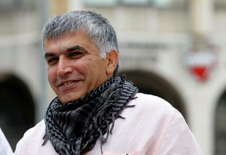 Bahrain's high court upholds five-year sentence against rights activist nabeel rajab: lawyer
