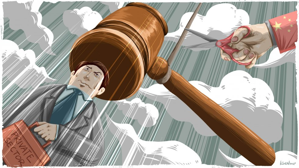 Why China's private firms aren't convinced the law will protect them