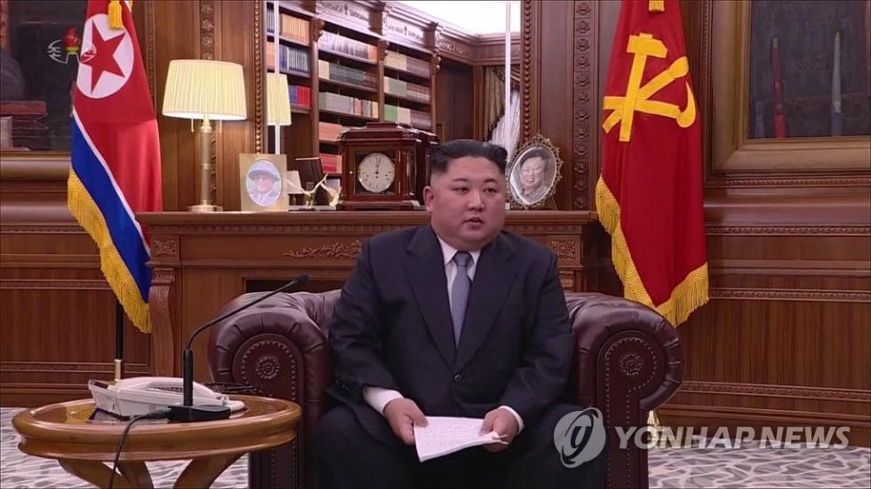 韩媒:金正恩的这个画面史无前例