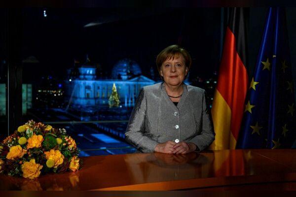 德国总理默克尔发表新年讲话 呼吁民众团结一心