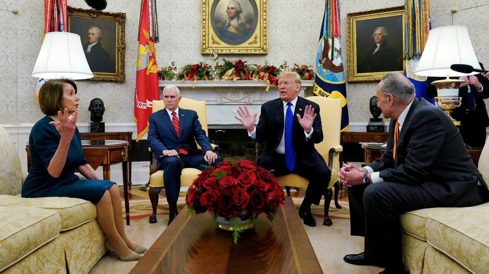 'Let's make a deal': Donald Trump invites congress leaders to bipartisan border briefing as shutdown drags on