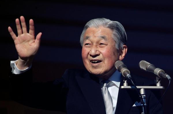 日本明仁天皇发表最后一次新年致辞,为日本和世界和平祈福
