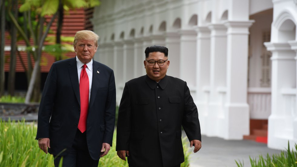 Donald Trump says he received a 'great' letter from North Korea's Kim Jong-un, and will probably meet him again