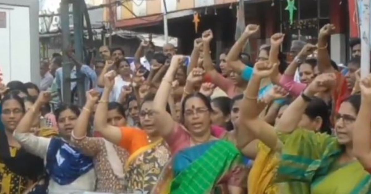 Women Form Human Chain Hundreds Of Miles Long For 'Equality' In Response To Religious Temple's Practices