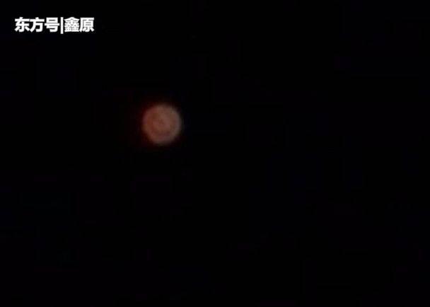 UFO出没?美基洼岛神秘红色球体高空飞翔,专家称或非人造物体