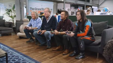 Watch The Grand Tour trio play with themselves in racing game