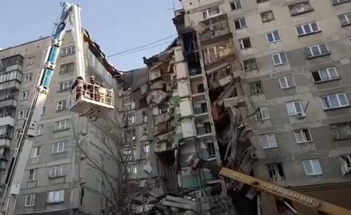 俄居民楼爆炸倒塌事故已致37死 仍有4人失踪
