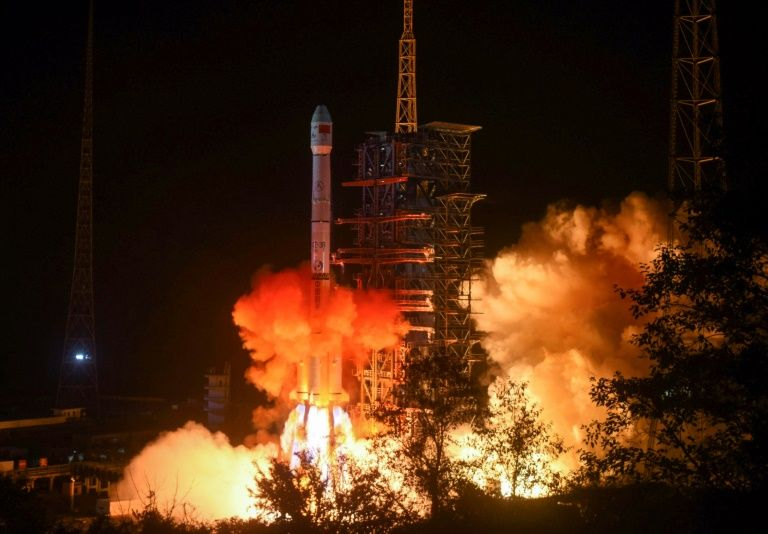 In space, the US sees a rival in China