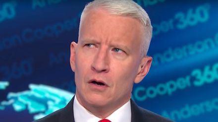 Anderson cooper has a theory about Donald Trump's latest weird Instagram post