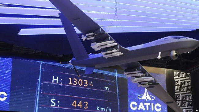 智库报告:中国在中东销售武装无人机来者不拒