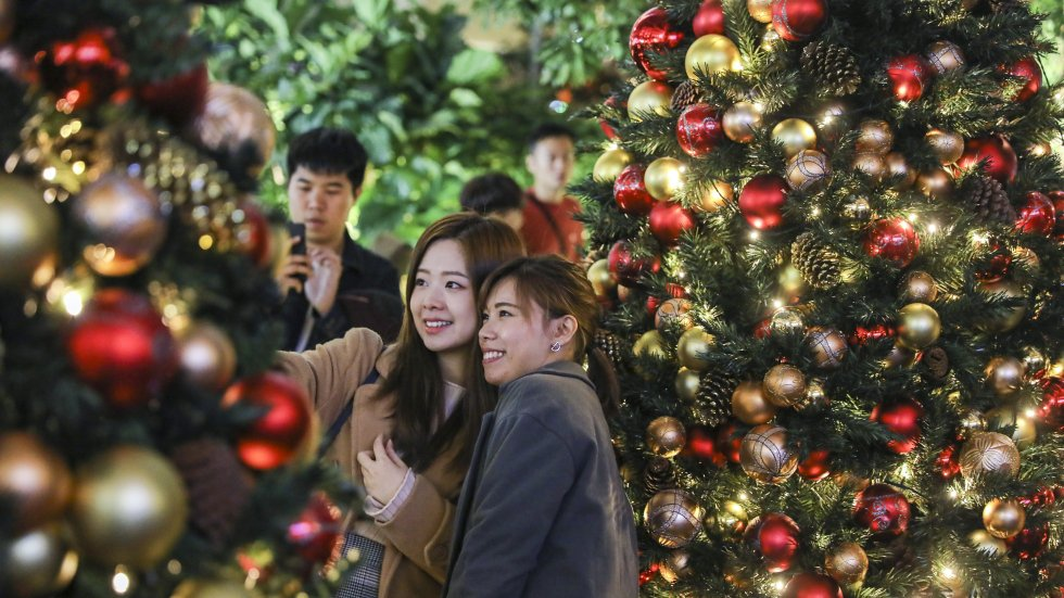 You're right, it didn't feel a lot like Christmas in Hong Kong, December was the fourth hottest on record