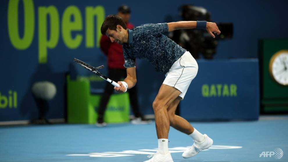 Tennis: Djokovic crashes out of Qatar Open