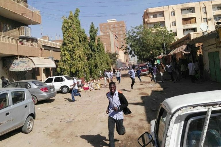Police fire tear gas to break up Sudan protests