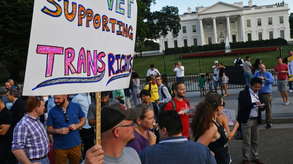 US court rules in favour of Donald Trump's ban on some transgender military recruits
